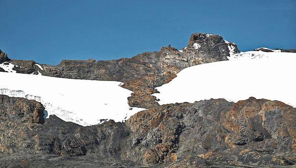Efecto. Pastoruri (Huaraz) víctima del calentamiento global. (GEC)