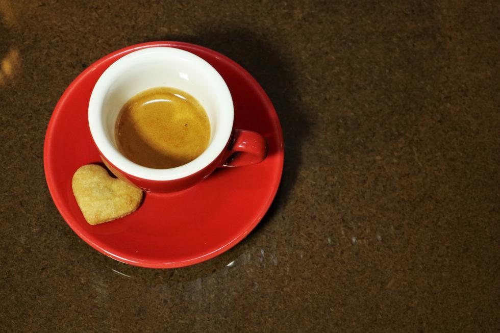 Un espresso para disfrutar y despertar.