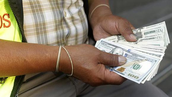 El índice global del dólar caía un 0.06%. (Foto: GEC)