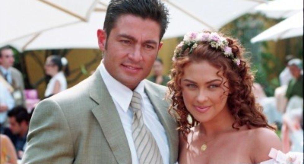 """Aracely Arámbula y Fernando Colunga tuvieron emotivo reencuentro a 20 años de protagonizar """"Abrázame muy fuerte"""" (Foto: Difusión/Instagram)"""
