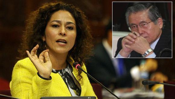 Cecilia Chacón dijo que respetan opiniones de Alberto Fujimori. (USI)