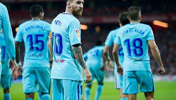 El técnico Luis Enrique también dejó el Barcelona en este temporada y le dio el pase a Ernesto Valverde. (Getty Images)