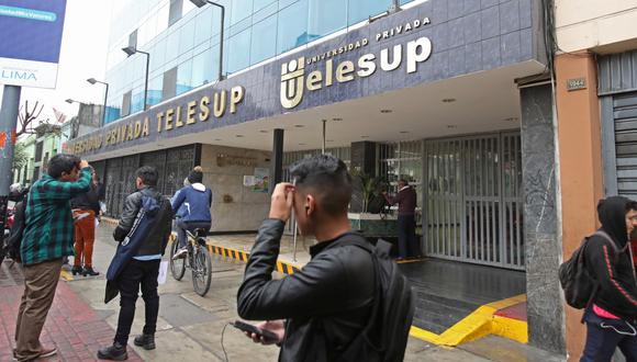 Sunedu le denegó la licencia institucional a la Universidad Telesup, pero esta apeló en un juzgado de Bagua. (Foto: GEC)