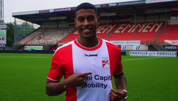 Miguel Araujo firmó contrato con el FC Emmen hasta el verano europeo del 2021. (Foto: FC Emmen)