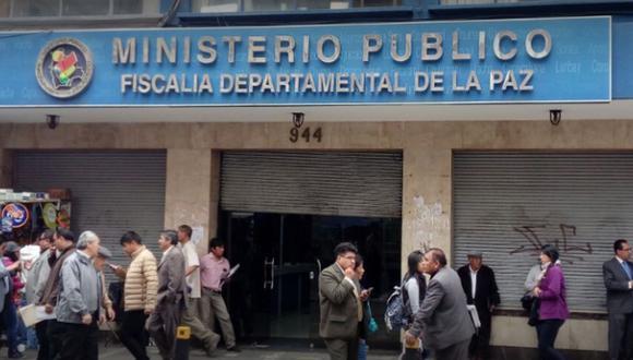 Ministerio Público - Fiscalía deparmental de La Paz. (Foto: Google Maps).