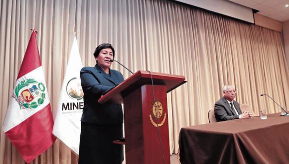Susana Vilca ha optado por no responder a las críticas. (GEC)