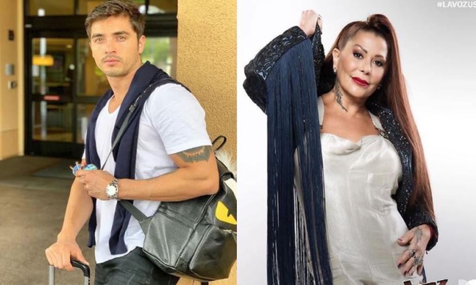 Modelo Christian Estrada negó tener un romance con la cantante Alejandra Guzmán. (Instagram)