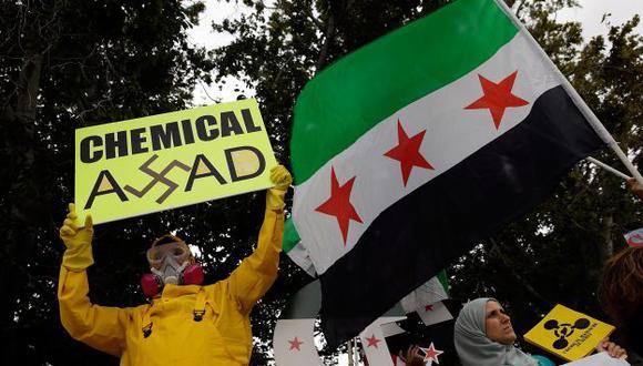 DESRAME Régimen de Bashar al Assad tendría uno de los arsenales químicos más grandes del orbe. (AFP)