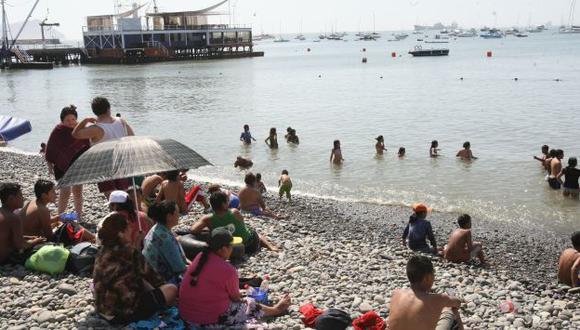 Solo 5 playas de 13 en el Callado son saludables. (USI/Referencial)