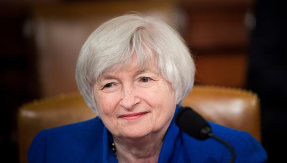Janet Yellen fue elegida como secretaria del Tesoro. (Foto: Brendan Smialowski / AFP)