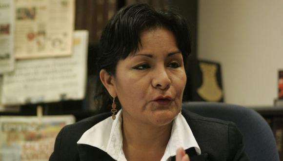 Corina de la Cruz tiene audios. (Perú21)