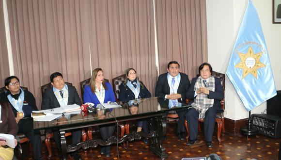 El Consejo de Ética informó sobre la suspensión de la colegiatura del fiscal de la Nación, Pedro Chávarry. (Foto: CAL)