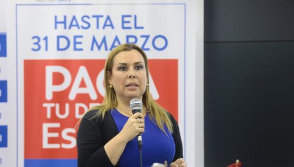"""Fiorella Molinelli indicó que no dejará EsSalud debido a que su voluntad es la de """"apoyar y trabajar"""" por el país desde dicha institución. (Foto: EsSalud)"""