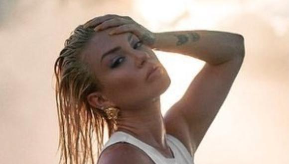 """Leslie Shaw lanza videoclip de cover de """"Alguien que cuide de mí"""". (Foto: @leslieshaw)"""