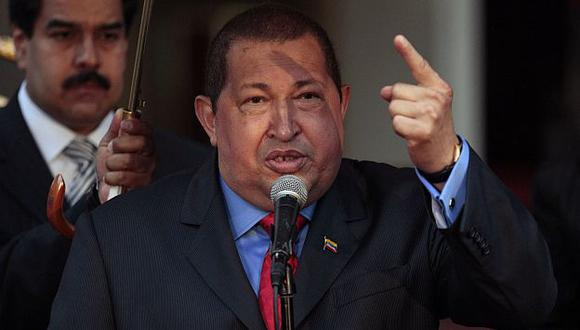 """Chávez señaló que EEUU """"da risa"""" al pedir que los países latinoamericanos no estrechen relaciones con Irán. (AP)"""