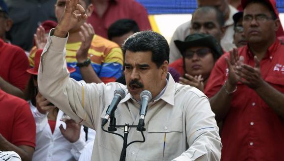 Nicolás Maduro dijo que Caracas recuperará Citgo a través de un juicio contra Estados Unidos. (Foto: AFP)