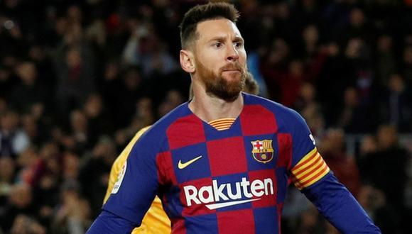 Lionel Messi anotó un 'hat-trick' en su último partido con el Barcelona por LaLiga Santander. (Foto: Agencias)
