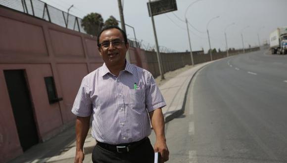 El ex gobernador Gregorio Santos encabezará hoy una marcha en Lima que exige una nueva Constitución. (Perú21)