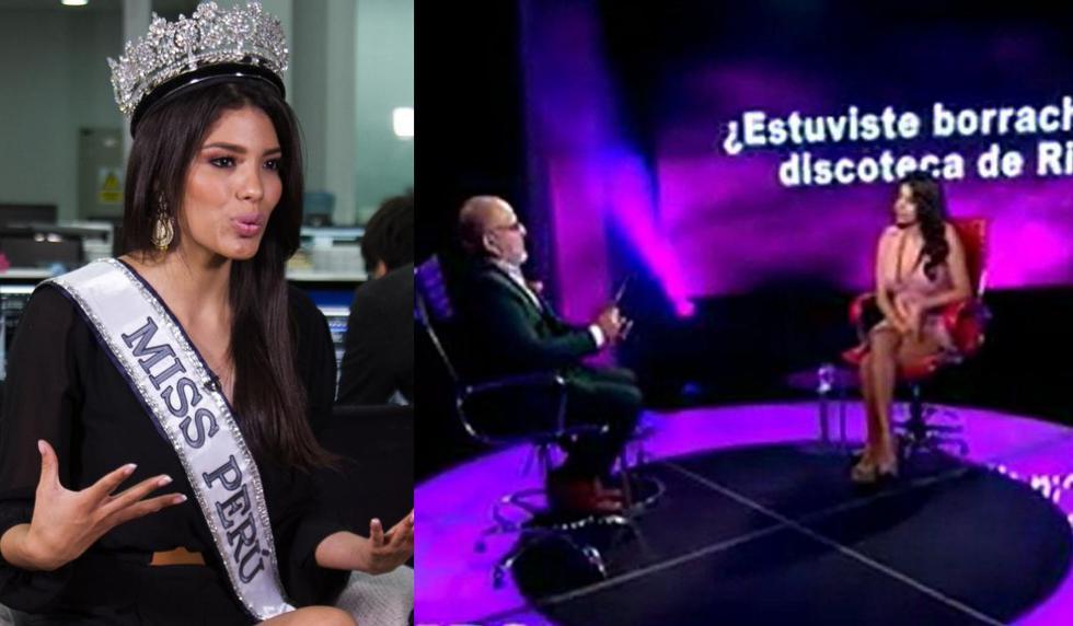 """""""El valor de la verdad"""" EN VIVO ONLINE : Todas las preguntas que respondió la ex Miss Perú, Ángela Grados."""