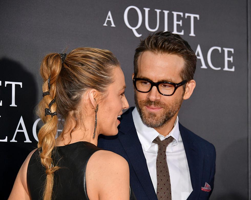 Ryan Reynolds y Blake Lively. (Getty Images)