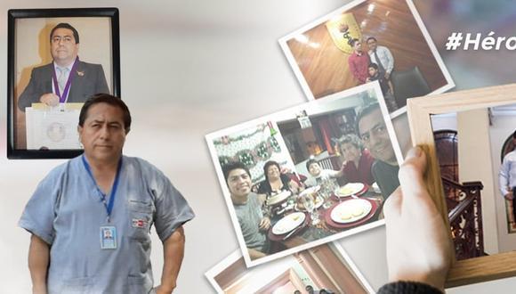 El doctor Jorge Fernando Ludeña Del Águila, médico del Centro Médico Santiago Apóstol de Comas, tenía 53 años cuando falleció.
