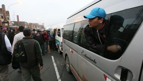 La reforma del transporte es la bandera de la gestión de Susana Villarán. (Peru21)