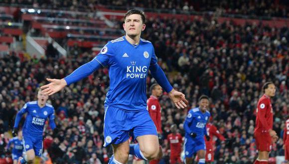 Harry Maguire (26) vestirá su quinta camiseta en la Premier League. (Foto: Leicester)