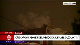Creman restos del cabecilla terrorista Abimael Guzmán