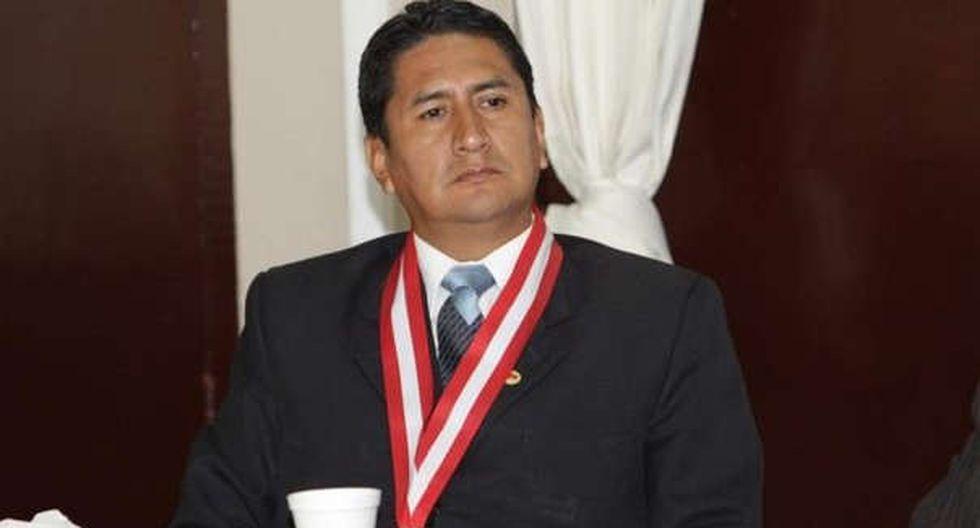 Vladimir Cerrón Rojas fue sentenciado a cuatro años y ocho meses de prisión efectiva los delitos de negociación incompatible y aprovechamiento del cargo.(Foto: Andina)