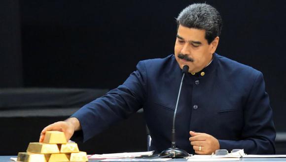 Nicolás Maduro vendió 7,4 toneladas de oro venezolano en África. (Reuters)