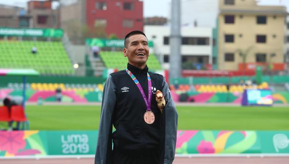 Efraín Sotacuro estará en los Juegos Paralímpicos Tokio 2020. (Foto: GEC)
