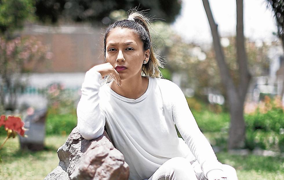 Arlette Contreras. Activista por los derechos de la mujer. (Perú21)