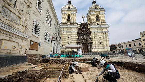 Se trata de un hecho de suma importancia, pues luego de 15 años se da un hallazgo arqueológico de esta naturaleza en el Centro Histórico de Lima. (Foto: Difusión)