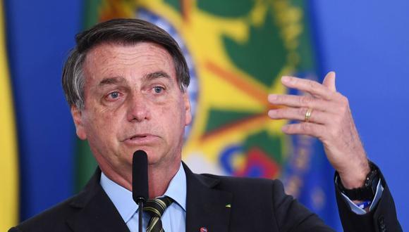 Jair Bolsonaro volvió a defender este jueves las políticas de su Gobierno para la Amazonía. (Foto: EVARISTO SA / AFP)