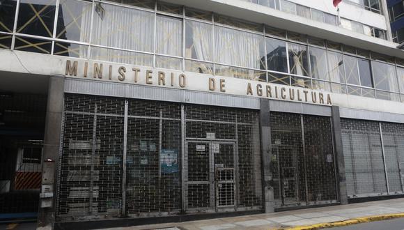La ley cambia la estructura del actual Ministerio de Agricultura y Riego (Minagri). (Foto: Diana Chávez / GEC)