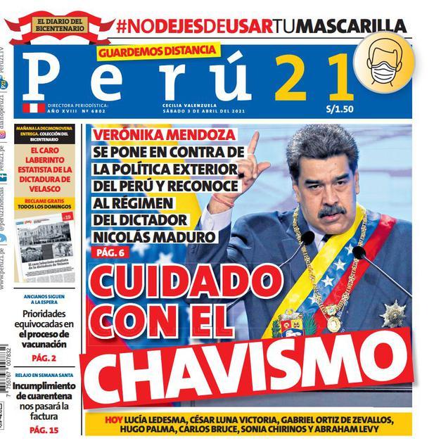 Cuidado con el chavismo