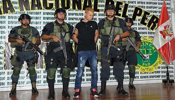 La Policía presentó al sicario 'Puerto Rico´ tras confesar crimen. (Difusión)