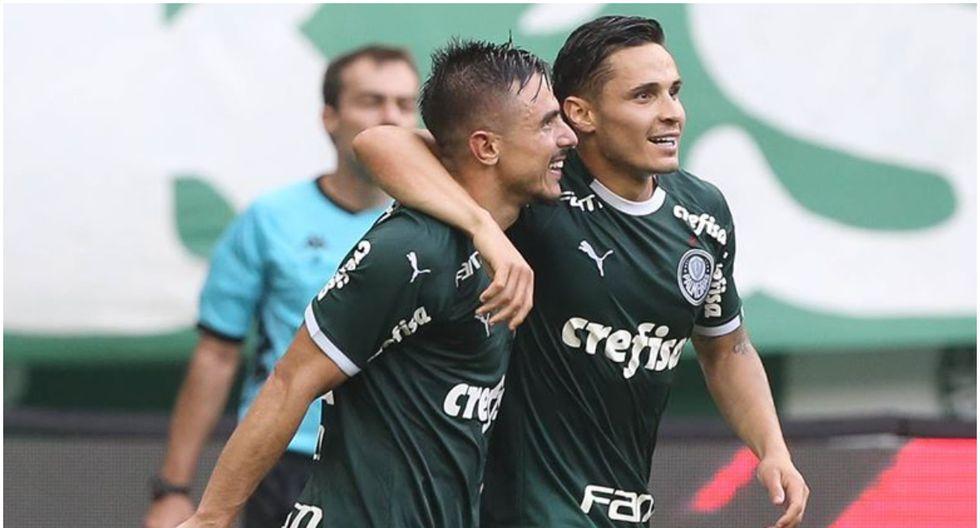 Palmeiras encabeza el grupo B