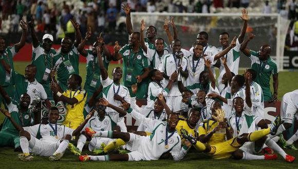 Nigeria cumplió una buena campaña en Abu Dabi. (Reuters)