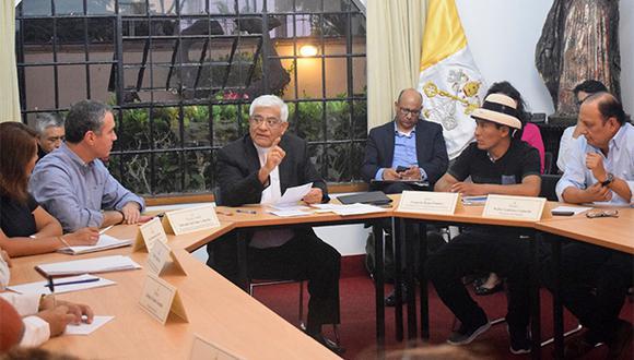 La Iglesia mediará en la reunión entre el primer ministro, Salvador del Solar, y el presidente de la comunidad de Fuerabamba, Gregorio Rojas. (Foto: CEP)