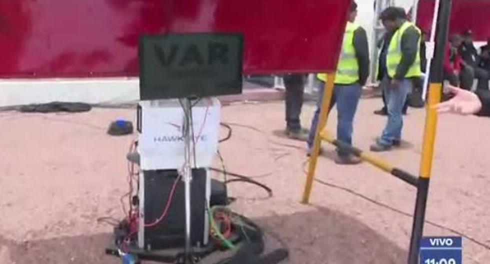 """""""Es la primera vez que vamos a instalar esta herramienta tecnológica en provincia"""", dijo Agustín Lozano, presidente de FPF. (GOLPERÚ)"""
