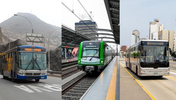 La ATU informó que ha dispuesto un nuevo horario para la circulación de transporte público. (Foto: Gobierno del Perú)