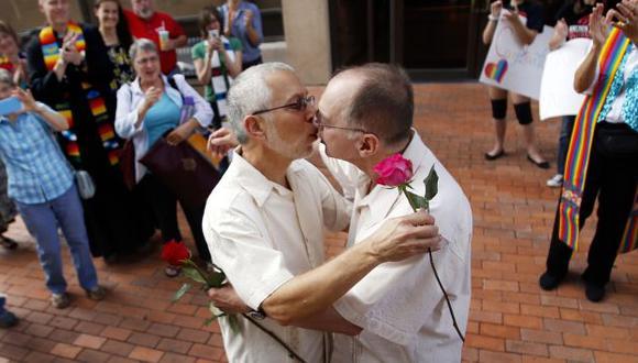 Estados Unidos ya reconoce los matrimonios gay en 32 estados. (AP)