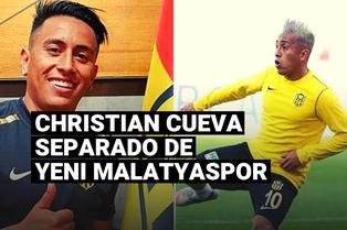 Yeni Malatyaspor confirmó la separación de Christian Cueva por indisciplina