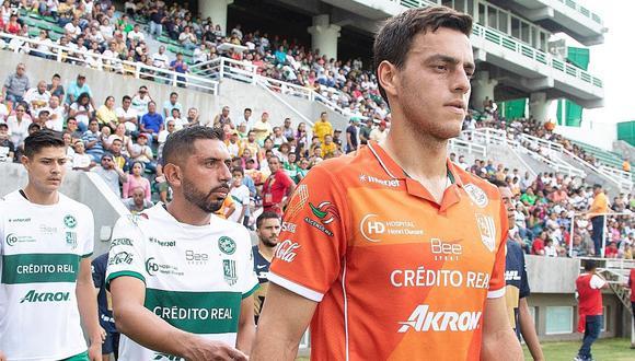 Alejandro Duarte fue titular en amistoso del Atlético Zacatepec contra Pumas. (Foto: Facebook Club Atlético Zacatepec)