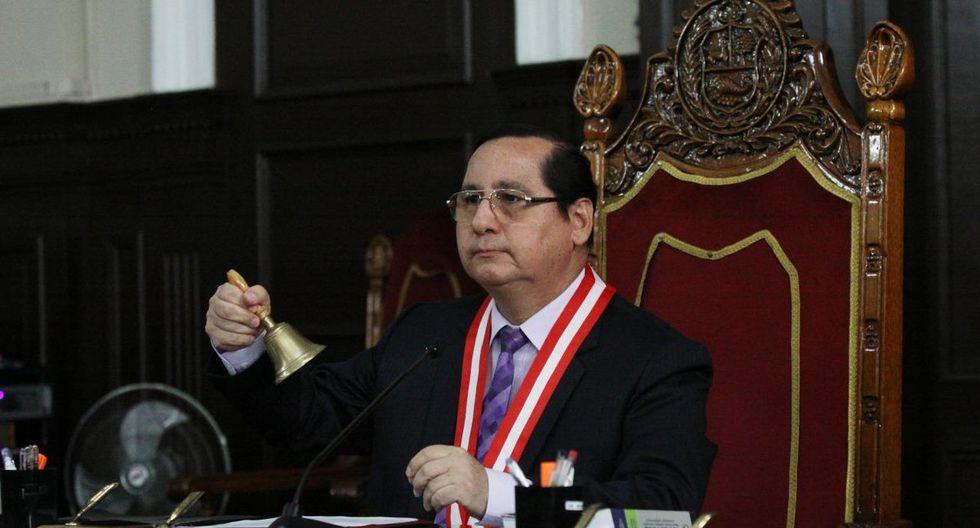 El juez Hugo Núñez accedió al pedido de la defensa de Pedro Pablo Kuczynski. (Poder Judicial)