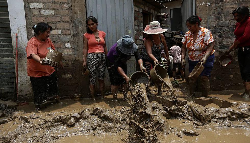 Huaycoloro: La Encalada es una de las zonas más afectadas tras desborde del río. (Anthony Niño de Guzmán)