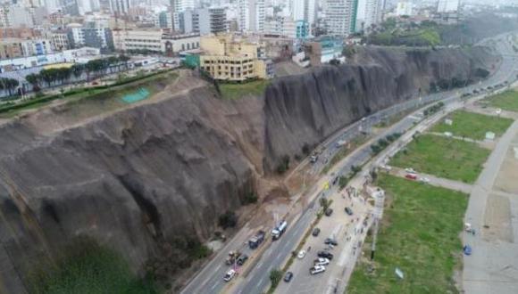 Poder Ejecutivo declaró en emergencia, por 60 días, los acantilados de la Costa Verde. (Foto: GEC)