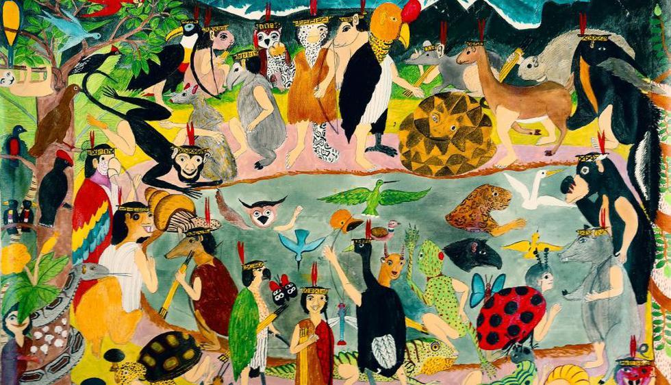 Muestra 'El bosque de los mitos' se exhibirá hasta el 6 de agosto (Difusión).