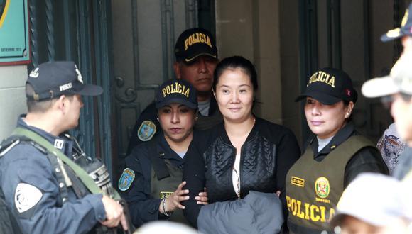 Seguirá en prisión: Declaran infundado el recurso de apelación de Keiko Fujimori. (GEC)